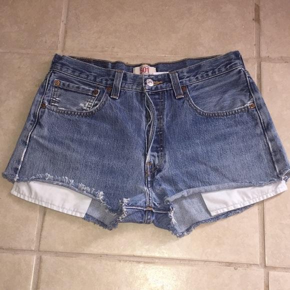 Levi's Pants - 501 Levi's button fly shorts